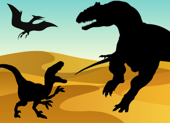 Dinosaur Silhouette for Download